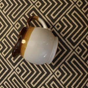 Vintage Ombre Coffee Creamer